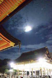 2016年八坂神社の観月祭/Yasaka shrine at night