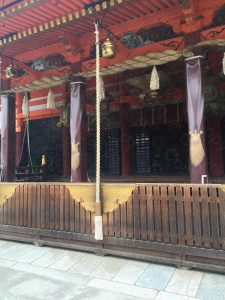 Main hall of Yasaka shrine
