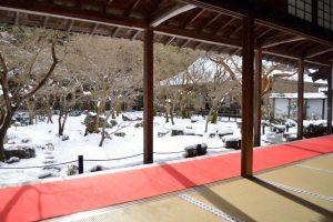 【2017】 京都の雪景色 圓光寺