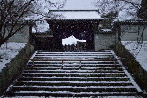 【2017】 京都の雪景色 曼殊院