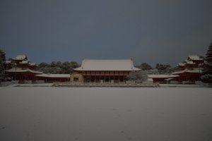 2017 雪の京都 平安神宮