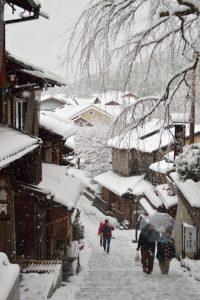 2017 雪の京都 産寧坂