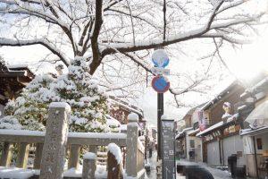 2017 雪の京都 清水坂