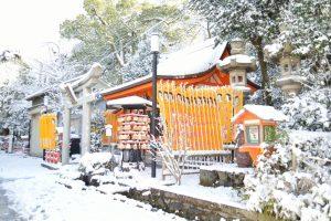【2017】京都の雪景色 八坂神社