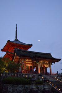 工事前の清水寺