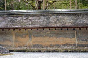 龍安寺の塀