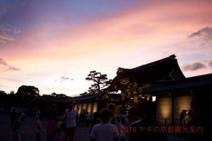 京の七夕二条城会場2017