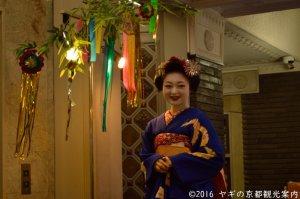 京の七夕2018 舞妓茶屋