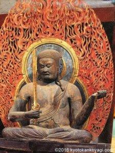 立体曼荼羅不動明王像