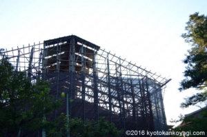 清水寺工事2019年9月
