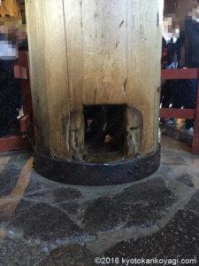 東大寺柱くぐり
