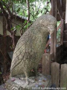 大豊神社狛鳶